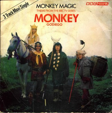 Monkey Magic single (front of sleeve)