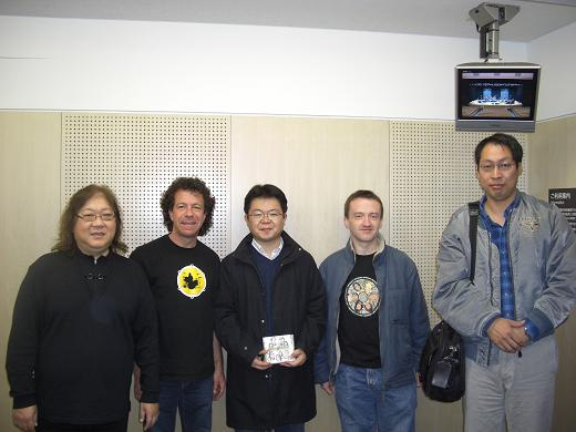 Godiego in Tokyo 2008 - meeting Mickie Yoshino and Tommy Snyder
