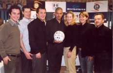 The Fabulous Films gang meet Man of the Match, Millwall played Steven Reid