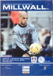 Millwall programme March 22nd 2003