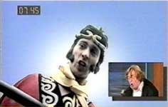 David Collings in Monkey feature on RI:SE TV, Tuesday 27 August 2002