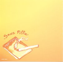Other side of the front cover of Sans Filtre's Yei Yei CD